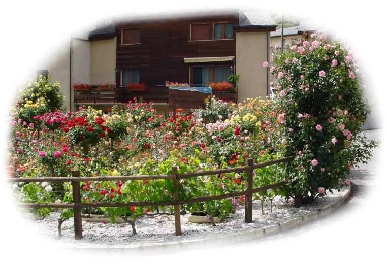 roseraie chatagnié